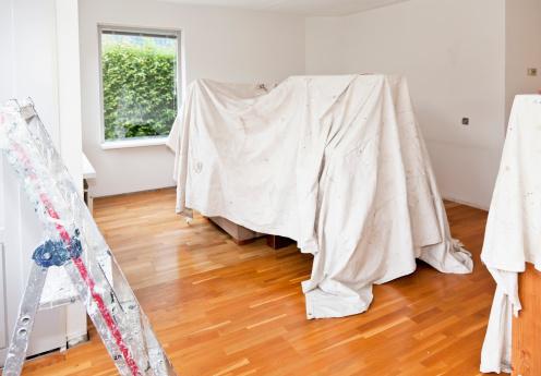 cmo pintar una habitacin de forma fcil y rpida