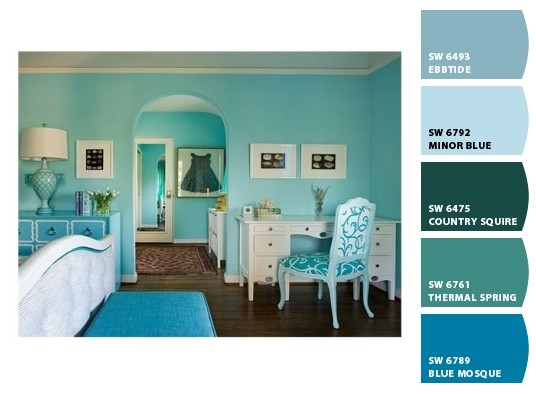 Tendencias de colores 2015 para pintar a la moda - Tendencias pintura paredes ...